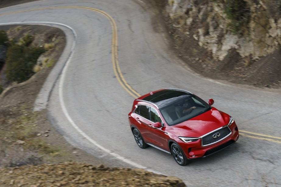 Avec un QX50 plus jeune et animé d'un moteur au taux de compression variable --une technologie inédite-- la filiale de luxe de Nissan espère avoir enfin trouvé le moyen de s'affirmer. (photo Infiniti)