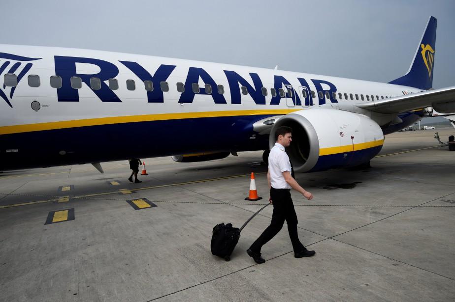 La compagnie aérienne Ryanair s'affiche dans les registres... (Photo CLODAGH KILCOYNE, archives Reuters)
