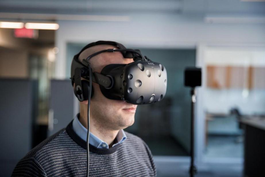 Virtual Rehab propose d'utiliser la réalité virtuelle et... (PHOTO MARCO CAMPANOZZI, LA PRESSE)