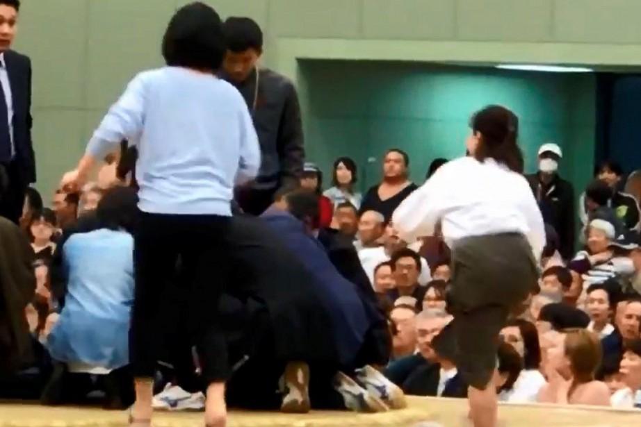 L'incident s'est déroulé mercredi à Maizuru, dans la... (PHOTO ARCHIVES REUTERS)