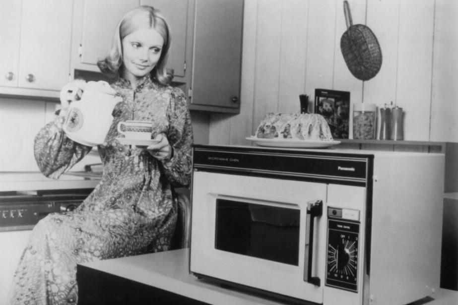 En 1967, l'entreprise Amana a commercialisé le Radarange,... (Photo fournie par Panasonic Canada)