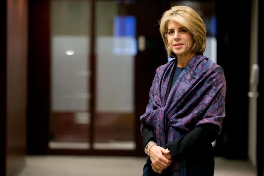 Dana Ades-Landy, présidente de l'Association des femmes en... (Photo François Roy, La Presse)