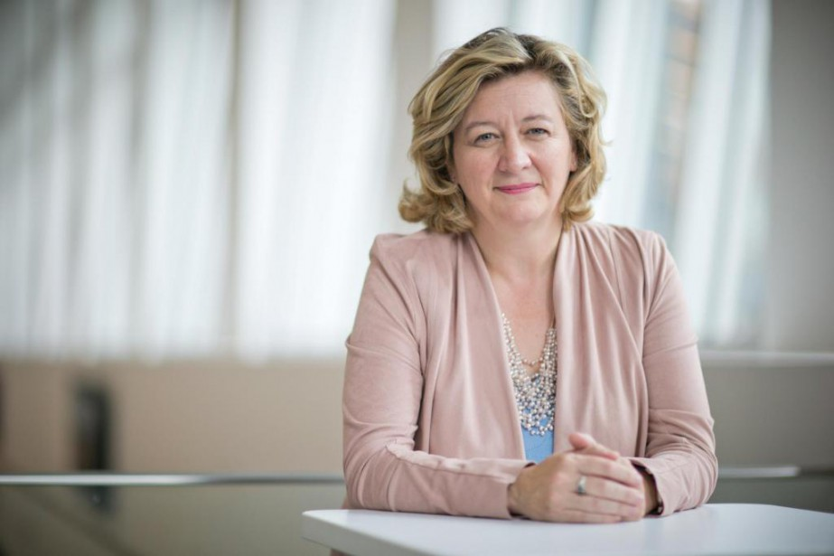 Andrée-Lise Méthot dit faire partie du 1% de... (Photo David Boily, La Presse)