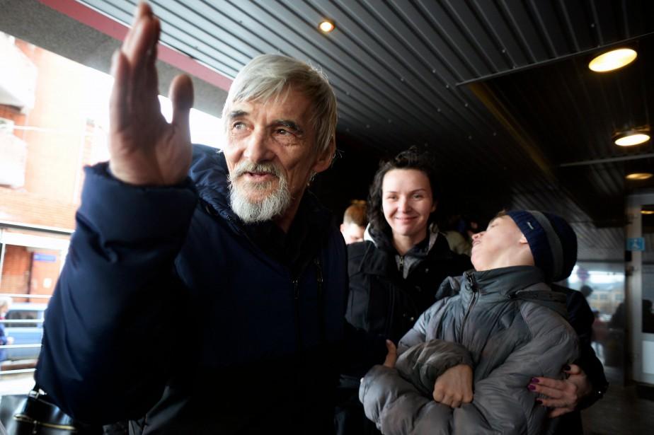 Iouri Dmitriev... (Photo Olga Maltseva, Agence France-Presse)