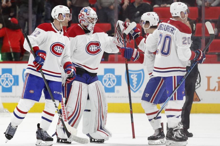 Avec ce gain, le Canadien a balayé la... (Photo Raj Mehta, USA TODAY Sports)
