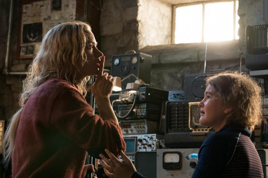 Emily Blunt et Millicent Simmonds dans A Quiet... (Photo fournie par Paramount)