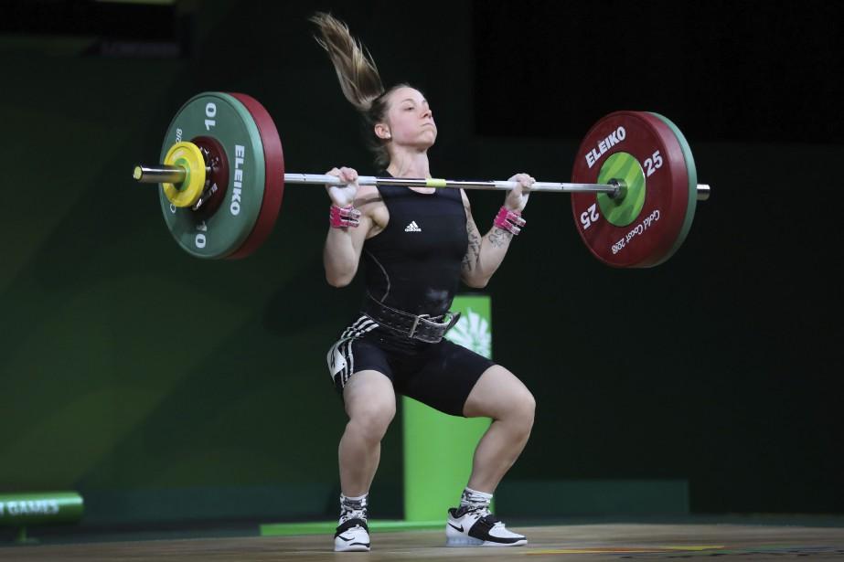 Rachel Leblanc-Bazineta remporté la médaille de bronze chez... (Photo Manish Swarup, AP)