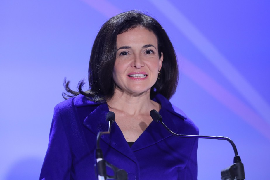 Sheryl Sandberg... (Photo Jacques Demarthon, archives Agence France-Presse)