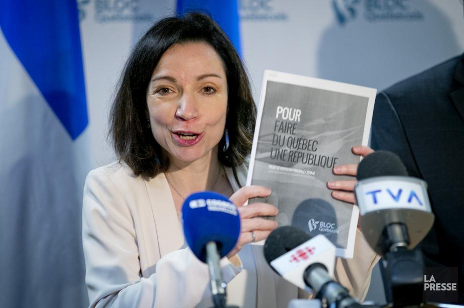 Cette ébauche de programme, intitulée «Pour faire du... (Photo David Boily, La Presse)