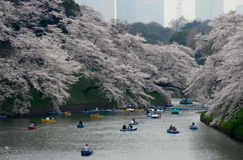 Air Canada offrira des vols vers Tokyo au... (Photo Kazuhiro NOGI, Agence France-Presse)