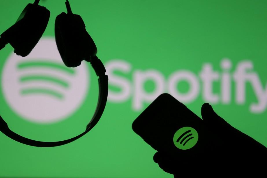 Le service de musique en ligne Spotify a... (PHOTO ARCHIVES REUTERS)