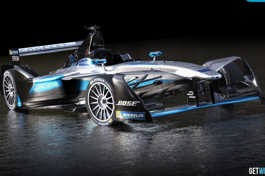 Une Mercedes Formule E telle que représentée dans... (photo GetWrightOnIt.com)
