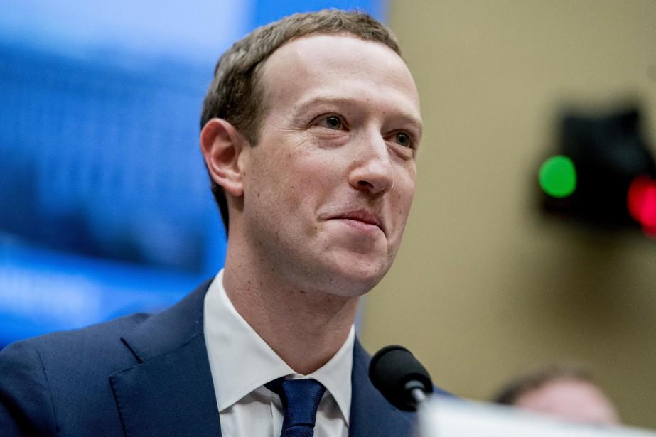 Mark Zuckerberg lors de son audience devant le... (Photo archives Associated Press)