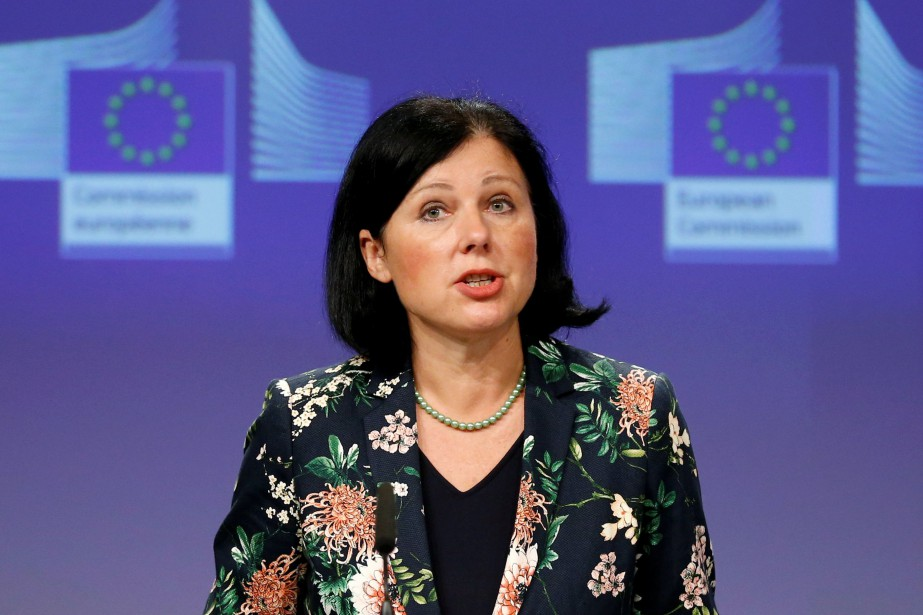 Vera Jourova... (Photo Francois Lenoir, archives REUTERS)
