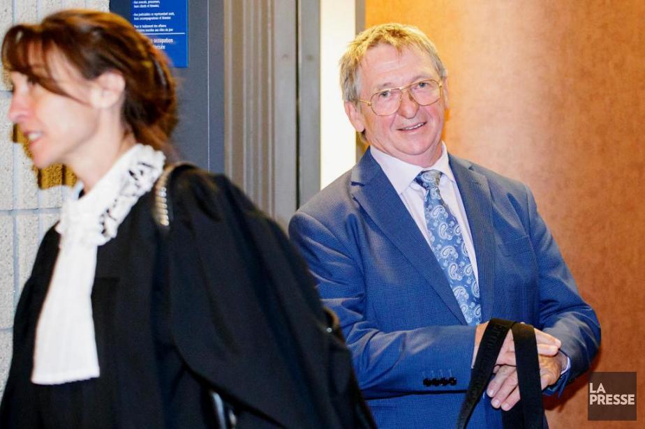 Alain Charron, 69ans, est accusé d'avoir comploté et... (PHOTO ALAIN ROBERGE, ARCHIVES LA PRESSE)