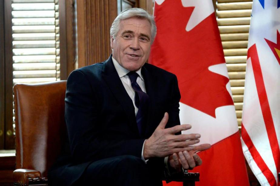 DwightBall, premier ministre deTerre-Neuve-et-Labrador.... (PHOTO PC)