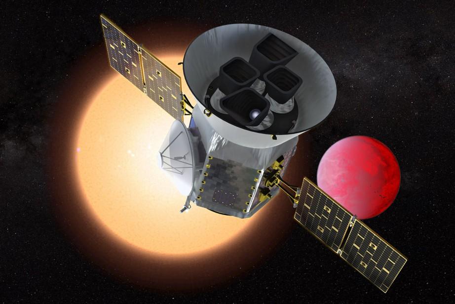Le satellite Transiting Exoplanet Survey (Tess) devrait s'envoler... (AFP)