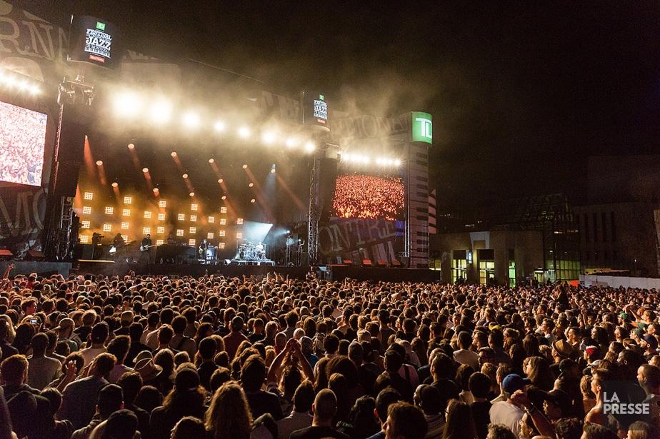 Il y avait foule lors du concert d'Anderson... (PHOTO ULYSSE LEMERISE, COLLABORATION SPECIALE, ARCHIVES La Presse)