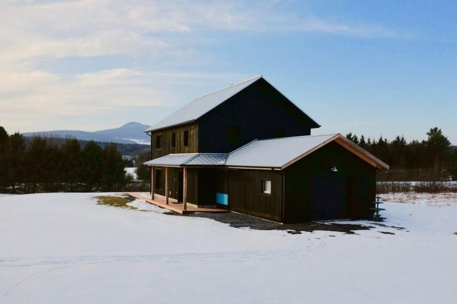La Maison des sources à Abercorn, non loin... (PHOTO FOURNIE PAR CONSTRUCTION ROCKET)