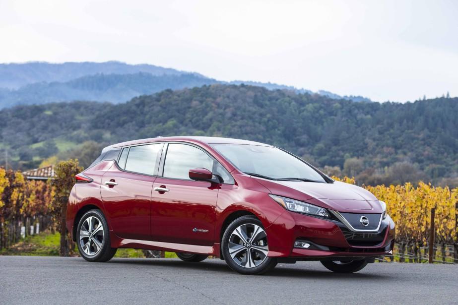 La Nissan Leaf s'est améliorée mais son autonomie... (La Presse)