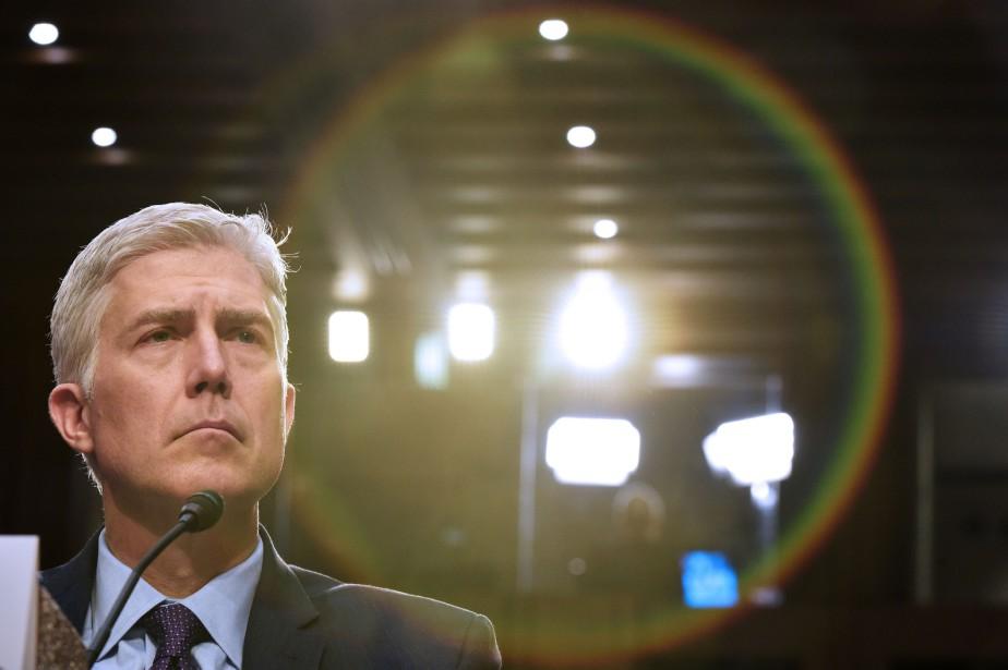 Grâce à la voix du juge Neil Gorsuch,... (PHOTO Neil Gorsuch , ARCHIVES AFP)