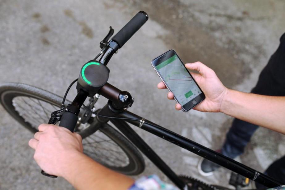 Conçu au départ comme GPS, le dispositif BluetoothSmartHalo,... (Photo Martin Chamberland, Archives La Presse)
