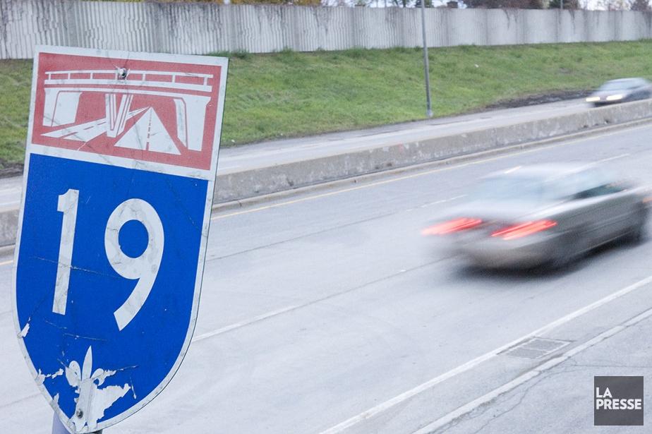 La Coalition19 croit que le parachèvement de l'autoroute19... (Ivanoh Demers, archives La Presse)
