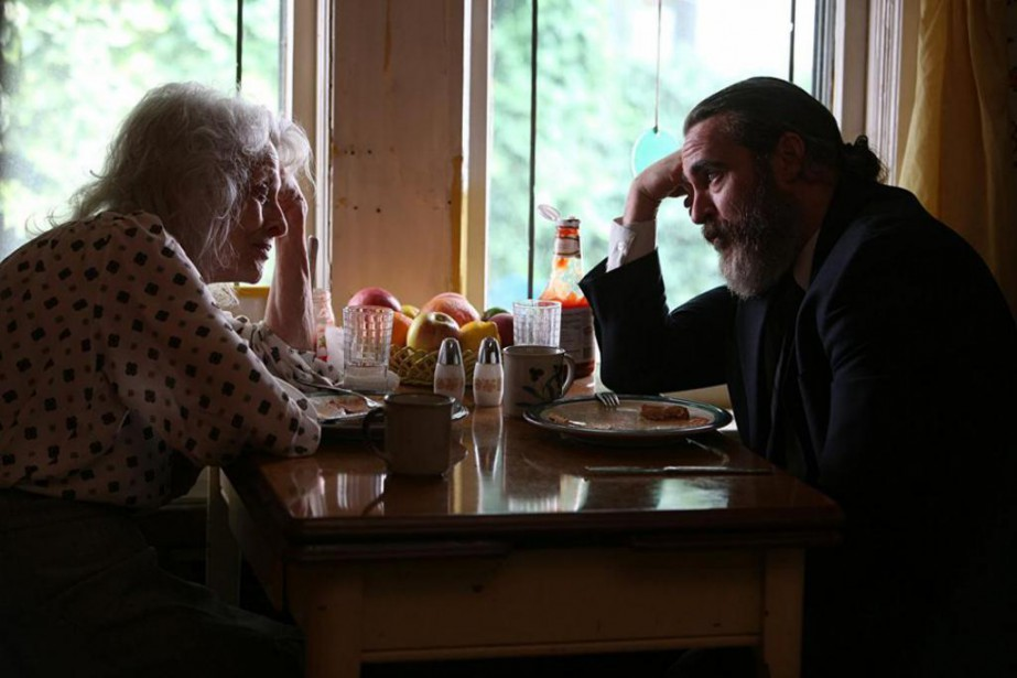 Judith Roberts et Joaquin Phoenix dans You Were... (Photo fournie par Amazon Studios)