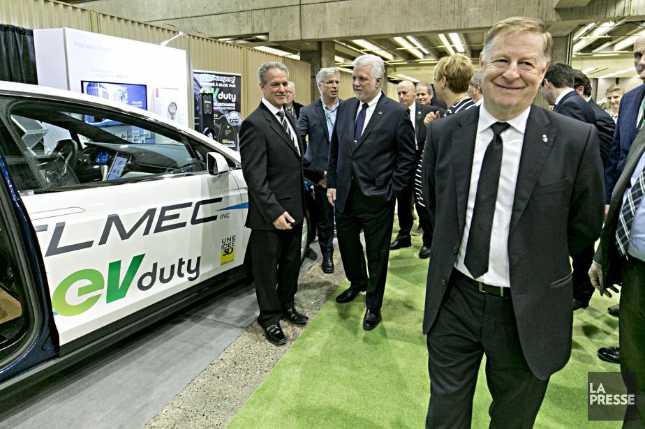 Le maire de Laval Marc Demers a volé... (Photo David Boily, La Presse)