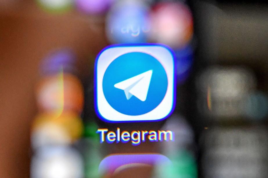 Fondée en 2013, Telegram a profité, grâce à... (PHOTO AFP)
