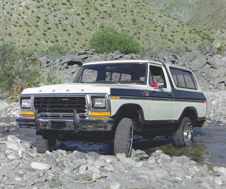 L'auto qui a marqué son enfance -  Le Ford Bronco 1979d'un de ses oncles chasseurs.   23 avril 2018