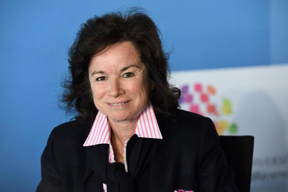 Sylvie Pierre-Brossolette duConseil supérieur de l'audiovisuel français.... (Photo BERTRAND GUAY, archives Agence France-Presse)