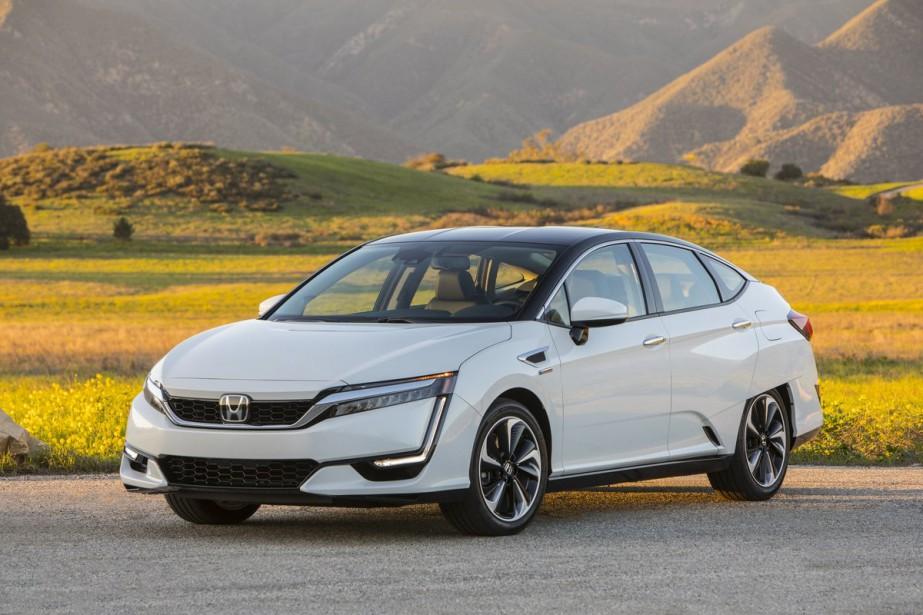 La Clarity à hydrogène cherche à rendre l'expérience de conduite la plus agréable possible. En d'autres mots, on veut nous faire oublier la présence d'un tel groupe motopropulseur. (Toutes les photos Honda)