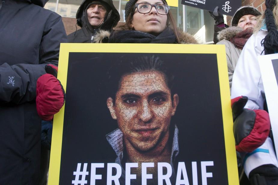 Le blogueurRaïf Badawi est emprisonné depuis maintenant plus... (ARCHIVES PC)