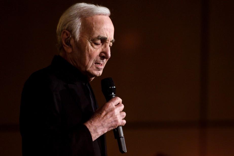 Charles Aznavour... (Photo archives Agence France-Presse)