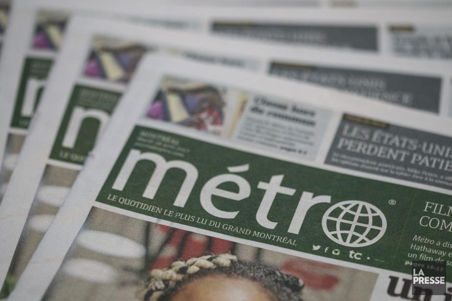 Le quotidien gratuitMétrode Montréal fait partie de la... (Photo Hugo-Sébastien Aubert, archives La Presse)