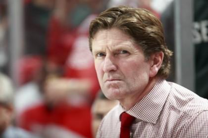 L'entraîneur des Red Wings a refusé de parler de son avenir à Détroit hier...