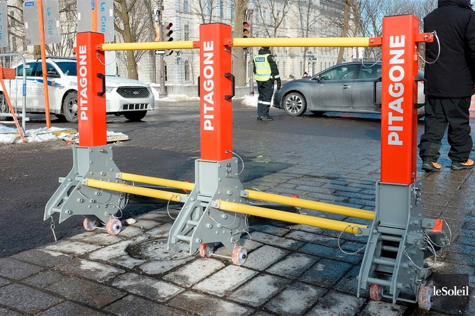 Cet hiver, le Service de police de la... (Photo Érick Labbé, archives Le Soleil)