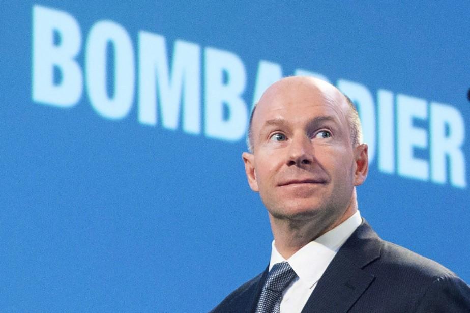 Le PDG de Bombardier, Alain Bellemare... (THE CANADIAN PRESS)