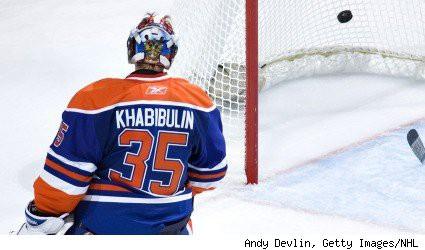 J'ai sursauté cet été lorsque les Oilers d'Edmonton ont offert à Nikolai...