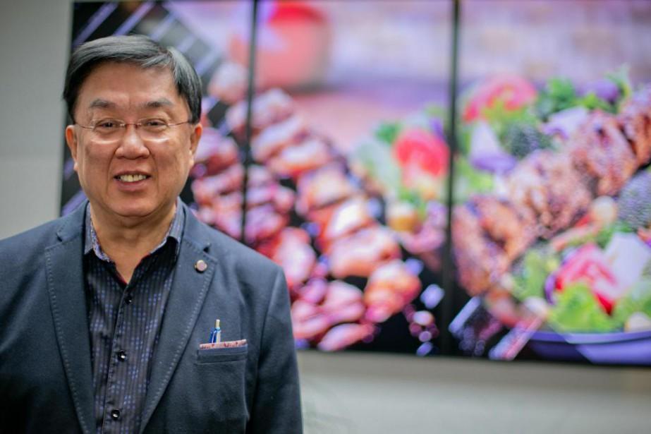 Malgré ses 70ans, Stanley Ma, fondateur et PDG... (Photo David Boily, La Presse)
