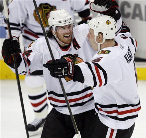 Les Blackhawks sont encore au coeur de la bataille pour gagner la Coupe Stanley...