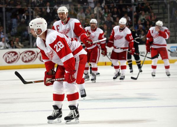 Grosse, très grosse perte pour les Red Wings. C'est confirmé ici par le Detroit...