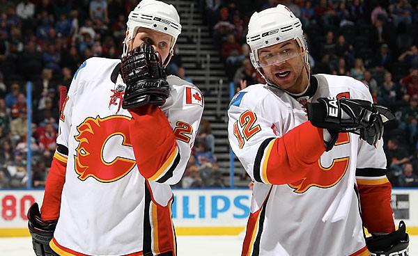 Les Flames de Calgary ont une fiche de 5-8 depuis l'acquisition d'Olli Jokinen...