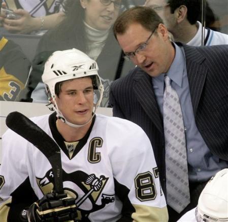 Pourquoi Crosby ne porte-t-il pas la visière sur cette photo?