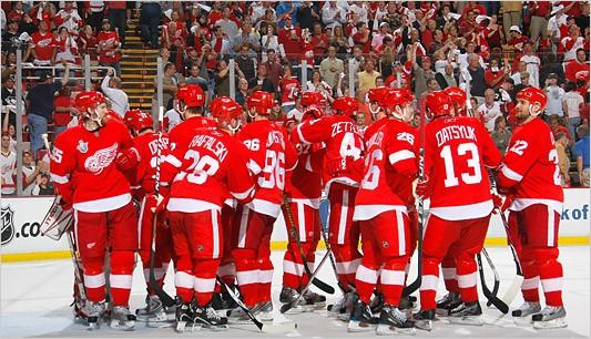 Mine de rien, les Red Wings de Détroit viennent d'abattre hier un formidable...