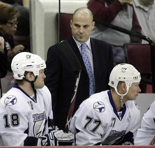 J'entends de bonnes choses du nouvel entraîneur du Lightning, Rick Tocchet. Cet...