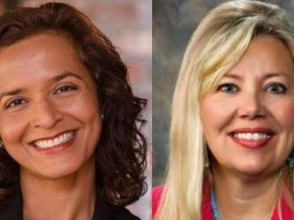 La démocrate Hiral Tipirneni et la républicaine Debbie...