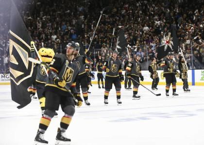 Les Golden Knights de Vegas ont remporté leur premier match 1-0 contre les...