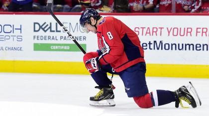 Alex Ovechkin est devenu hier le 20e joueurs de l'histoire de la LNH à marquer...